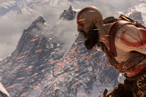 2019 God Of War 4 4k Wallpaper