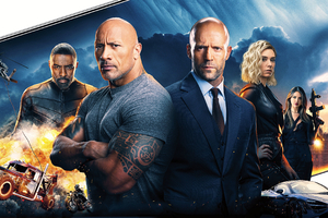 2019 Hobbs And Shaw 4k