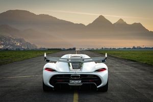2019 Koenigsegg Jesko Rear Wallpaper