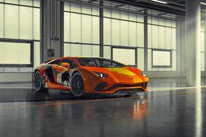 2019 Lamborghini Aventador S 8k Wallpaper