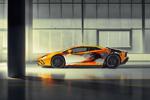 2019 Lamborghini Aventador S 8k New Wallpaper
