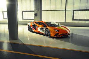 2019 Lamborghini Aventador S Front Wallpaper