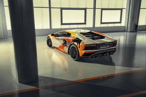 2019 Lamborghini Aventador S Rear View 8k Wallpaper