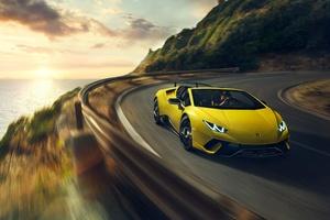 2019 Lamborghini Huracan 4k
