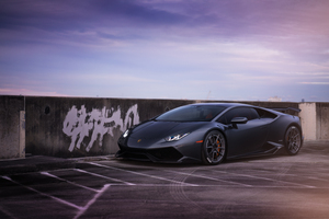 2019 Lamborghini Huracan Adv Wheels 8k Wallpaper