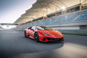 2019 Lamborghini Huracan EVO 4k