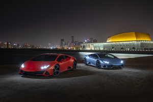 2019 Lamborghini Huracan Evo New Wallpaper