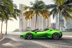 2019 Lamborghini Huracan Evo Spyder 5k