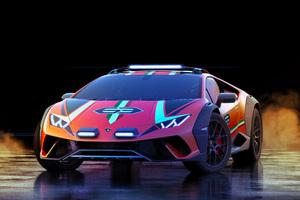 2019 Lamborghini Huracan Sterrato Concept 5k Wallpaper