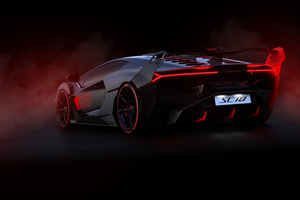 2019 Lamborghini SC18 Wallpaper