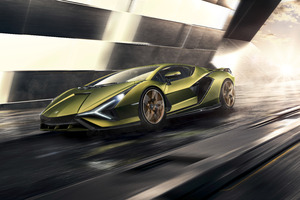 2019 Lamborghini Sian 8k Wallpaper