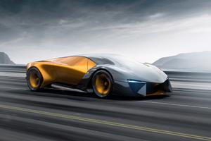 2019 Lamborghini Terzo Millennio 4k Car