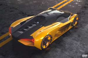 2019 Lamborghini Terzo Millennio Car