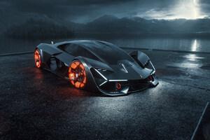 2019 Lamborghini Terzo Millennio Digital Art