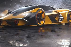 2019 Lamborghini Terzo Millennio