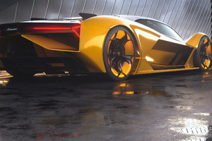 2019 Lamborghini Terzo Millennio Rear