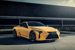 2019 Lexus LC 500 4k Wallpaper