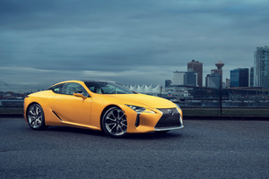 2019 Lexus LC 500 8k Wallpaper