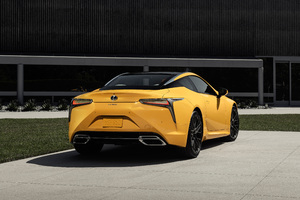 2019 Lexus LC 500 Inspiration Concept Rear