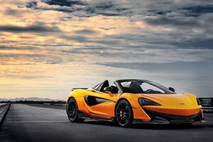 2019 Mclaren 600lt Spider 5k Wallpaper