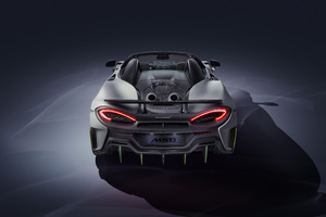 2019 McLaren 600LT Spider Rear 8k