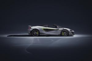 2019 McLaren 600LT Spider Side View
