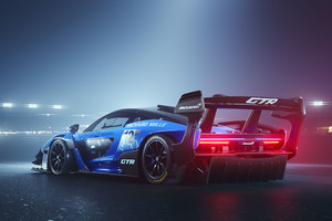 2019 McLaren Senna GTR Rear Wallpaper
