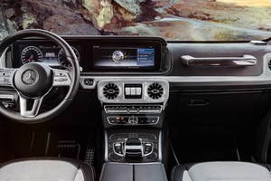 2019 Mercedes G Class Interior Wallpaper