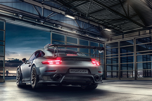 2019 Porsche 911 GT2 RS 4k Rear Wallpaper
