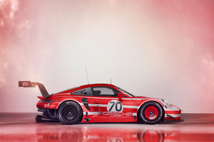 2019 PORSCHE 911 RSR 4k