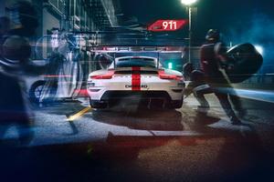 2019 Porsche 911 RSR 8k Wallpaper