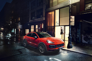 2019 Porsche Cayenne Coupe 5k Wallpaper