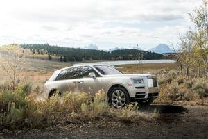 2019 Rolls Royce SUV Cullinan 4k