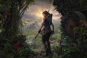 2019 Shadow Of The Tomb Raider Lara Croft 4k Wallpaper