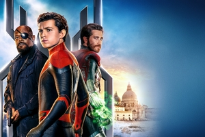 2019 Spiderman Far From Home Movie 5k