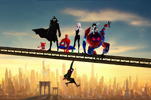 2019 SpiderMan Into The Spider Verse Movie Wallpaper