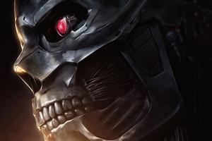 2019 Terminator Dark Fate Movie Wallpaper