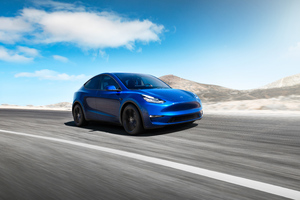 2019 Tesla Model Y Wallpaper