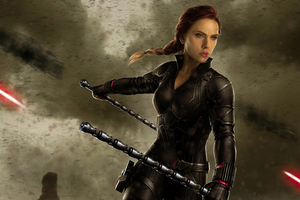 2020 4k Black Widow Wallpaper