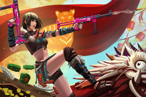 2020 4k Garena Free Fire Game Wallpaper