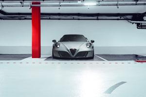 2020 Alfa Romeo 4C Nemesis Pogea Racing Front 10k Wallpaper
