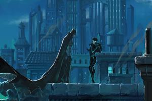 2020 Batman And Catwoman Artwork
