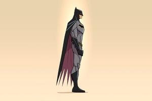 2020 Batman Minimalism 4k