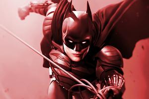 2020 Batman Robert Pattinson Art