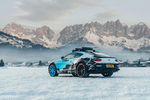 2020 Bentley Continental Gt Ice Race 8k