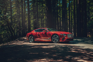2020 Bentley Continental GT V8 4k Wallpaper