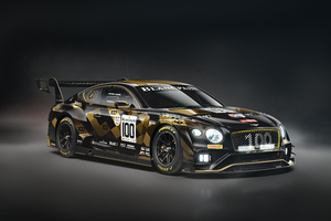 2020 Bentley Continentals GT3 Front View 8k Wallpaper