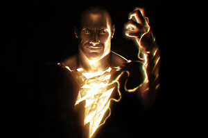 2020 Black Adam 4k Wallpaper