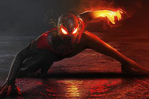 2020 Black Spiderman 4k Artwork