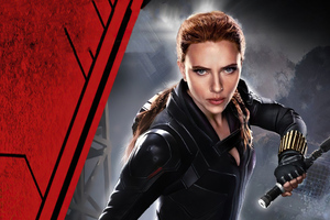 2020 Black Widow Movie 4k Wallpaper